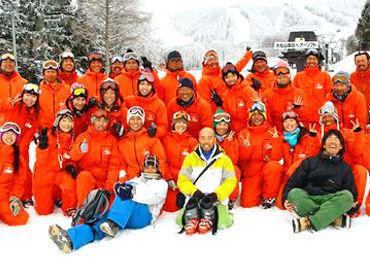 【スクールSTAFF】☆ スキー、スノーボード好き必見 ☆ゲレンデで楽しく働こう♪住み込み&まかない無料でリゾートバイトを満喫できます!!