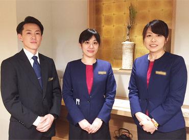 東証一部上場企業の「リソルホテル株式会社」 契約社員から、正社員へステップUPするスタッフも多数♪