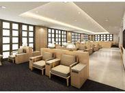 10/24にリモデルOPEN★空港のラウンジのように、特別なお客様をご案内するキレイでオシャレな快適空間です◎ ※イメージ画像