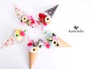 珍しいお花も取り扱っている≪KARENDO≫♪ カラフルでかわいいお花に囲まれて、楽しく働けます!