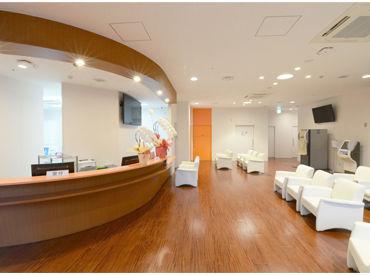 受付・待合室の空間も広め◎ 「リドレ横須賀」の休憩室も利用可能です!