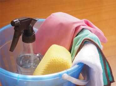 オフィスビルでのお掃除をお任せ♪重い掃除用具などもないので安心して働けますよ◎ ※画像はイメージ。
