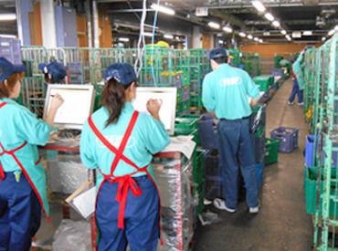 倉庫内作業・フォークリフト・一般事務、どのお仕事もイチから丁寧に教えるのでご安心ください◎