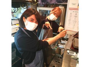 ぜひこれまでのご経験を当店で活かしてください♪ \調理師免許をお持ちの方、大歓迎!/