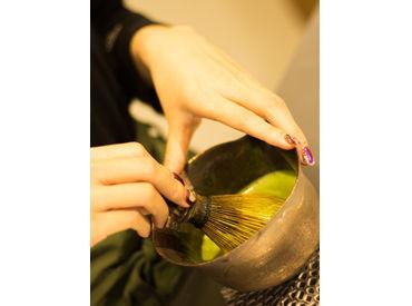 \東京・原宿発!/ 人気の抹茶専門店が遂に大阪に初上陸♪ フリーター・学生歓迎です☆