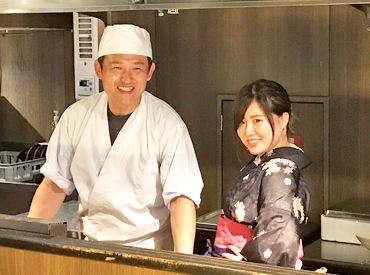 【ホール】高崎駅西口すぐ♪美味しい和食と焼き鳥のお店*°バイトデビューしたい学生さん大歓迎★美味しいまかないでお腹もいっぱいに*°