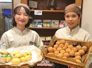 【未経験、バイトデビューさん大歓迎!】 焼きたてパンの美味しい香りに囲まれて、バイト中も自然と笑顔になりますよ♪