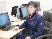 \私が面接します!/ こんにちは!所長の豊田です。僕もアルバイトから始めたんですよ。気さくにざっくばらんにお話しましょう♪