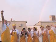 【虹が出たのでみんなでパシャリ】 @ダイバーシティ東京プラザ★ビジネスマンや女性に人気のインド式カレー店です!