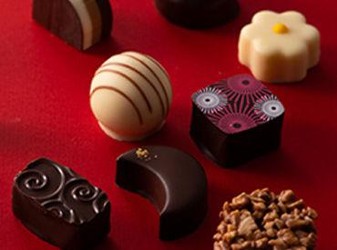 トリュフ、ボンボンショコラ、生チョコetc 様々な種類のチョコレートが毎日製造されています♪甘~い香りがもうたまりません!