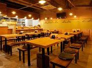 「町の居酒屋」をコンセプトに、地域に愛されるお店を目指します!お客様もスタッフも仲良くワイワイ過ごせる大衆酒場♪