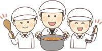 ★小学校での給食調理補助★