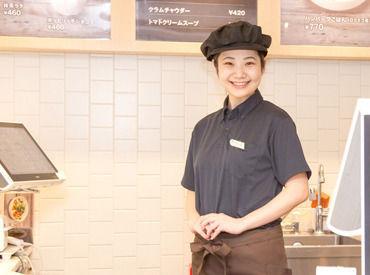 かわいい制服で働けるのも嬉しいPoint♪ウッディでナチュラルテイストな店内で働きませんか?。*