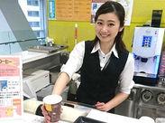 人柄を重視採用★バイトデビューさんも歓迎♪企業内カフェだから、時間の流れもゆったりめです☆彡