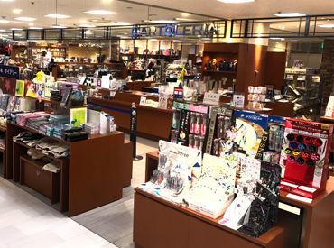 可愛い雑貨やオシャレな文具に囲まれてお仕事♪面接はお店で行いますので、お店の雰囲気もしっかりチェックできますよ!!