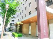 ≪安心の三井不動産グループ♪≫ 業績好調!続々と新しいホテルをオープンしています! 駅近だから通勤もしやすいですよ◎