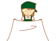 ★スグに覚えられるかんたんワーク★ みんなで助け合うことが多く 思いやりのあるスタッフばかり♪♪ (画像はイメージ)