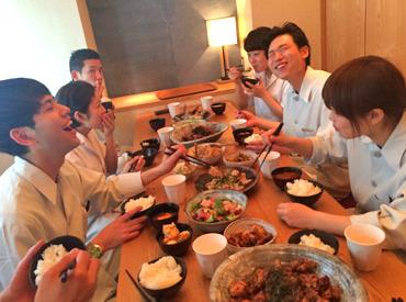 ★NEWSTAFF募集★新しい仲間に出会える!嬉しいまかないあり!ヘルシーでおいしい和食♪