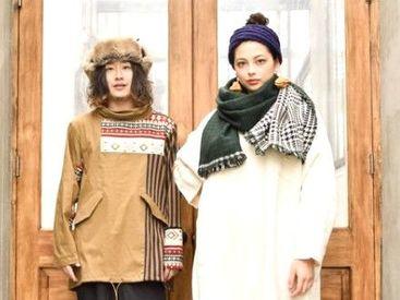 """""""★。・チャイハネ・。★"""" 全国で人気のエスニックブランド! 可愛い衣服・雑貨に囲まれながら働きませんか♪"""