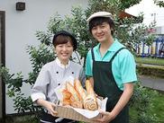 パンのいい香りに包まれてお仕事スタート!<<朝と夕方の時間帯が急募です★>>働き方はあなたの希望を考慮します!