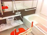 キレイな施設◎入浴に特化した短時間のデイサービスで、ご利用者さんは比較的元気な方が多いです!