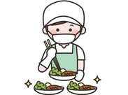 主なお仕事は昼休憩前にお盆の準備、食材の仕分け。