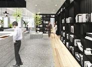 西新宿の高層ビル街に構える≪新宿野村ビル≫その4階を大幅リニューアル♪キレイで新しい環境で一緒に働きませんか?