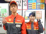 <*お仕事は事務作業メイン*> 給油の説明などは、 他のスタッフがメインで対応します!