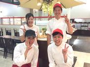 ★幅広い年代のスタッフが活躍中★「友達と一緒にはじめました!」というSTAFFも(^▽^)/\(^▽^)