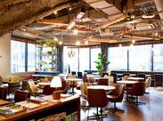 エッジの効いた多数のアパレルショップが集うビル内にある『WIRED CAFE』。おしゃれ感度の高い大人にも注目されています。