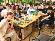 社員・アルバイトはみんな仲良し♪定期的にBBQや飲み会、誕生日などのイベントを開催☆