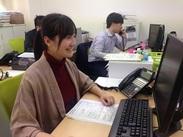 <横浜駅徒歩5分のオフィス>事務デビューも大歓迎♪会員数もゾクゾクと増員中の派遣会社で人気ワーク!
