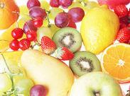 美味しいフレッシュジュースのマメカ♪ 野菜を切ったり、果物をチェックしたり…とってもカンタンなお仕事ばかり★
