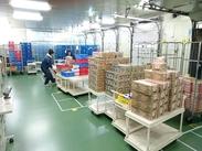 商品ごとや配送先ごとなど、仕分け作業自体がとってもカンタン★女性スタッフが多く活躍しています◎