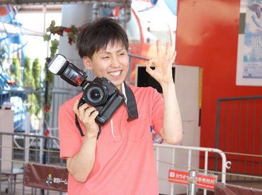 【フォトSTAFF】。*●NEW STAFF募集中●*。東京ドームシティ アトラクションズで写真撮影!土日祝勤務歓迎♪未経験STARTのスタッフ多数★