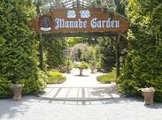 ここは真鍋庭園内の夏のリバースボーダーガーデンです◎未経験さんも大歓迎♪私たちと一緒にお仕事しませんか?