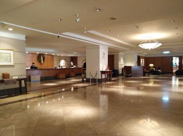 """【清掃Staff】開業120年余。歴史ある""""超一流""""ホテル―*洗練されたキレイな施設で清掃をお任せ♪カンタンだから、家事の延長で働けます★"""