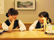 =尾道駅スグの観光ホテル= お客様の「ありがとう」を直接受けられるフロントスタッフ☆ やりがいはバツグン♪