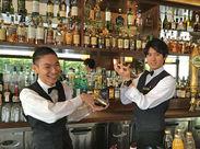 ≪今だけの募集!≫カクテルやドリンク作りをお任せします◎豊富な種類のお酒が揃っているのでもっと詳しくなれるはず