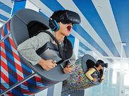 ★最新のVRアトラクションの案内ができます★空を飛んだり、おばけ屋敷に入ったり。。。わくわくできるVRがいっぱい!!