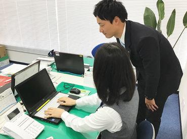 PC入力、電話対応など一般事務のお仕事をお願いします♪ 未経験&ブランクのある方も大歓迎です!