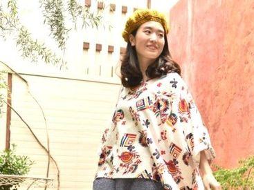【雑貨販売】エスニック雑貨や衣服に囲まれているとなんだか海外に来たみたい…魅力的なものがありすぎて、時間がたつのも忘れちゃう☆彡