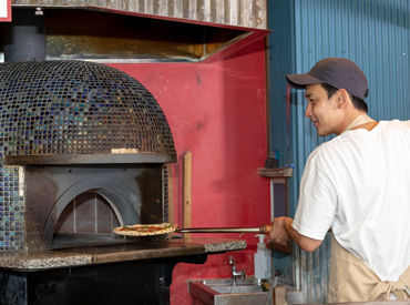 【ピザ職人】――オープニング案件あり――【薪窯で焼かれた絶品ピッツァ】 &【あなたの腕】でお店を輝かせましょう!