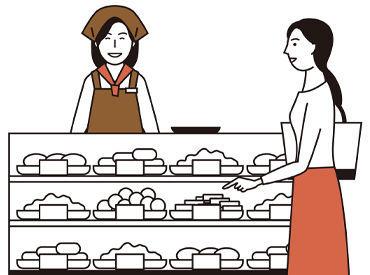 超ロングセラー商品「リップルパイ」や、 フルーツゼリーの「山形旬香菓」など お馴染みの人気商品の販売です♪