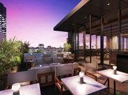 銀座の夜景が一望できるガーデンレストラン♪ 空間もお料理もサービスも上質なお店づくりを目指しています!