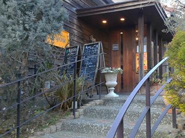 住宅街にあるゆったりした 空間の流れるCAFE&レストランです◎ 素敵なイベントもたくさんあります♪ 高校生OK!主婦(夫)OK!