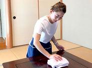 お掃除のお仕事ははじめて? そんなあなたも全く問題ナシ★ 使う道具も見慣れたものばかり!!やることも難しくありません♪