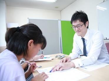 【自習室でのサポート】\\数学が得意な方、大歓迎★//自習室で生徒が疑問に思ったところを説明◎一人一人に寄り添った指導ができますよ!