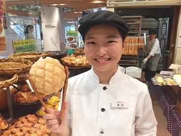 朝~昼まで♪昼~夕方まで♪などご都合にあわせてシフトIN★社割(20%OFF)があるので、オトクにパンの購入もできますよ◎
