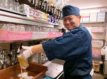 ☆京都駅前でとっても便利☆ 学生スタッフ多数活躍中♪ 難しいことは一切ナシ◎